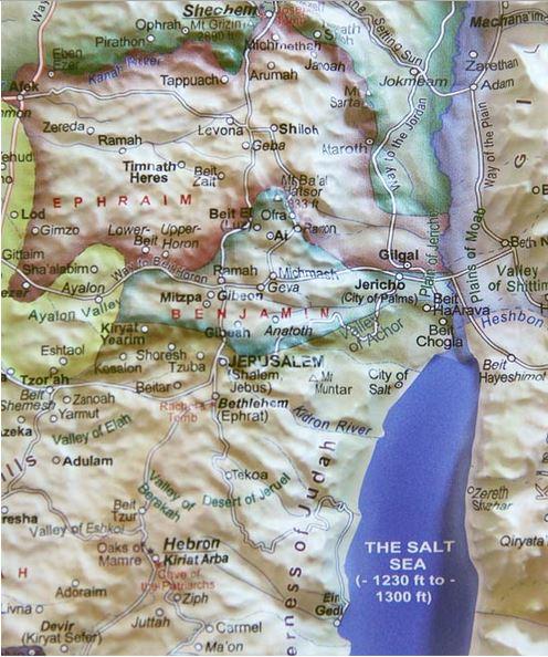 Biblical Israel 3D Map - Israel365