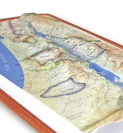 Biblical Israel 3D Map Israel365