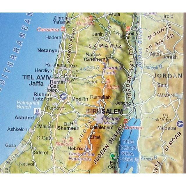Biblical Israel D Map Magnet Israel - Israel map