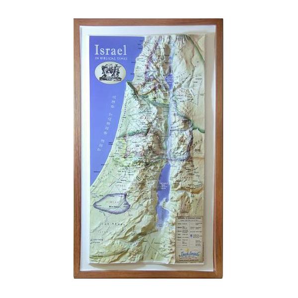 biblical israel 3d map israel365