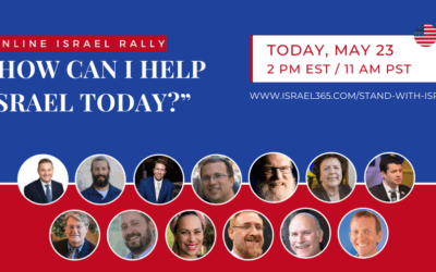 Join The Online Israel Rally!