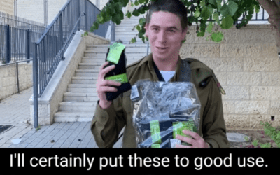 Lone Soldier Thanks Israel365