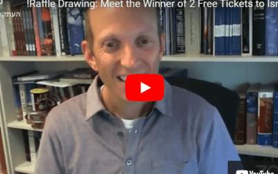 Raffle Winner Donates Proceeds To Israel!