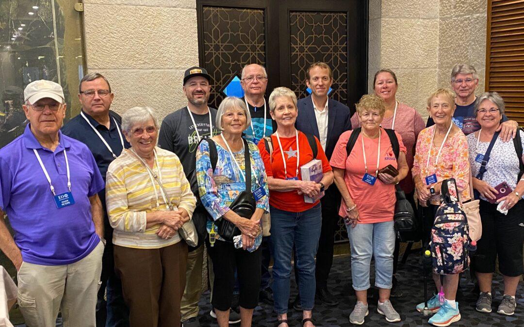 Rabbi Tuly Welcomes Christian Tourists to Israel