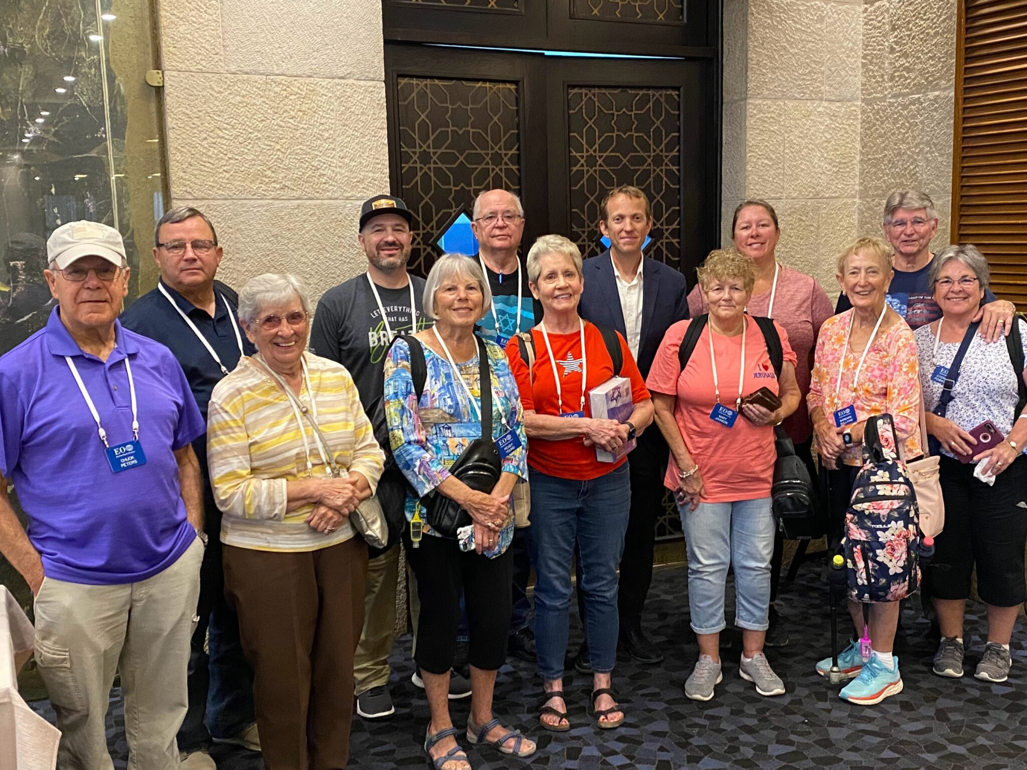Yesterday, Rabbi Tuly Weisz welcomed a pioneering group of Christian tourists to Israel.
