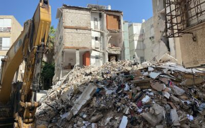 When 36 Families lost their homes in a building collapse, Israel365 was there to help